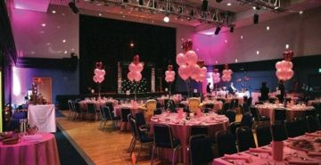 A lavish reception at the Radlett Centre