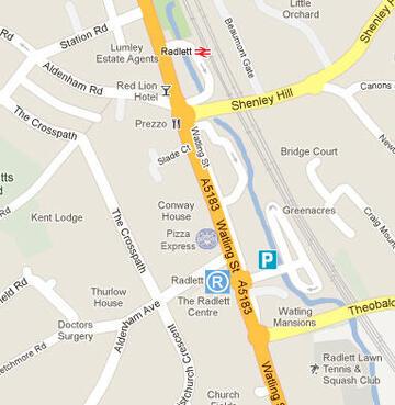Find Us Parking About Us Home Radlett Centre