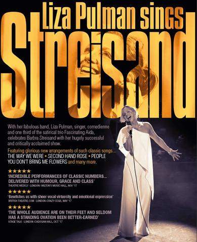 Wed 09 May - Liza Pulman Sings Streisand